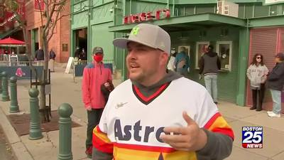 Astros' fanbase well represented for ALCS at Fenway Park