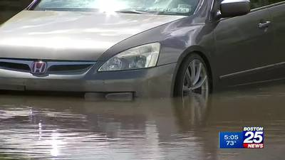 Northbridge homes, cars flooded from overflowing Blackstone River
