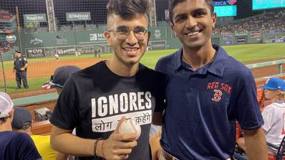Photos: Fans showing their love for the Red Sox