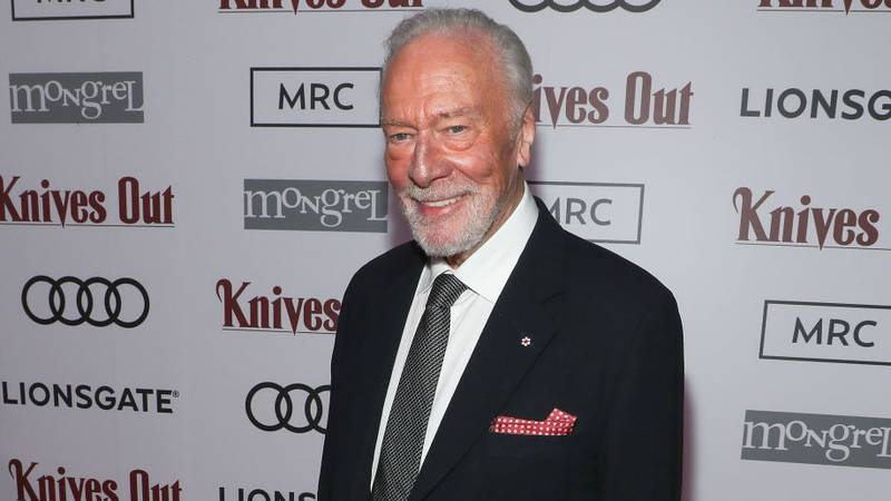 """FILE PHOTO: Christopher Plummer attends the post-screening event for """"Knives Out"""" hosted by Audi Canada, Lionsgate, Mongrel Media and MRC at Patria on September 07, 2019 in Toronto, Canada. The actor died at the age of 91."""
