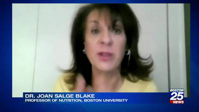 BU nutrition professor joins Boston 25 News to discuss National Nut Day