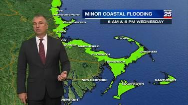 Boston 25 Tuesday night weather forecast