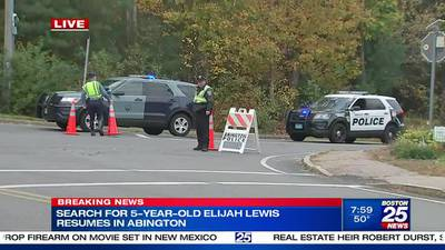 Search for missing NH boy continues this weekend in Abington as investigators fear the worst