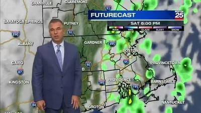 Boston 25 Friday night weather forecast