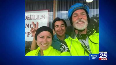 Boston man cycles across America to raise awareness for climate change