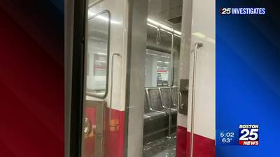 25 Investigates: T commuter says door on moving train 'kept opening'