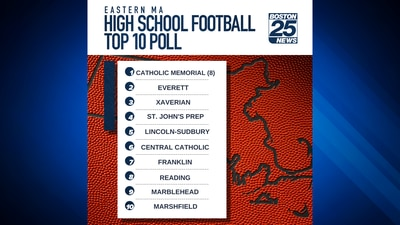 High School Football Poll sees few changes after no Top 10 team loses in Week 7