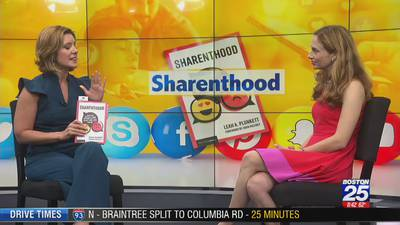 'Sharenthood' book urges parents to be cautious of over-sharing kids online