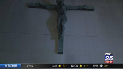 Burglar vandalizes Boston church, steals sound system