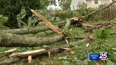 Clinton residents wonder what blew through town leaving trail of damage