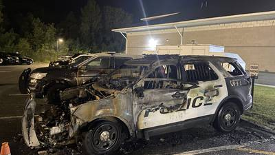Two Dracut Police cruisers destroyed in suspicious fire