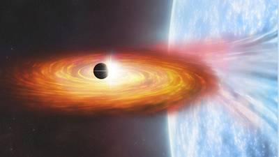 Signs of first planet discovered outside Milky Way galaxy