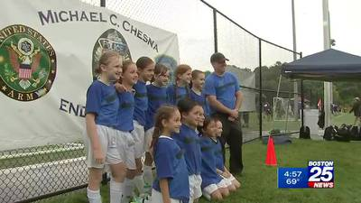 Soccer jamboree to honor fallen Weymouth Police Sgt. Michael Chesna