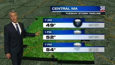 Boston 25 Monday late night weather forecast