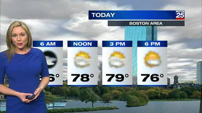Boston 25 Thursday morning weather forecast