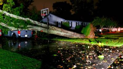 Photos: October nor'easter pounds Massachusetts with heavy rain, hurricane-force gusts