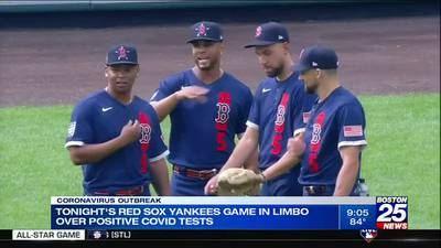 Friday's Sox-Yankees game to proceed after start to series postponed