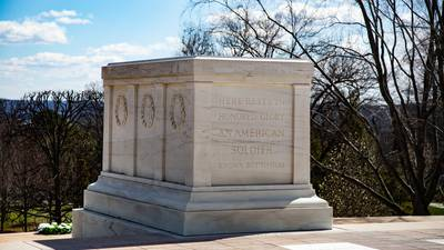 Public can honor Tomb of the Unknown Soldier, lay flowers at grave