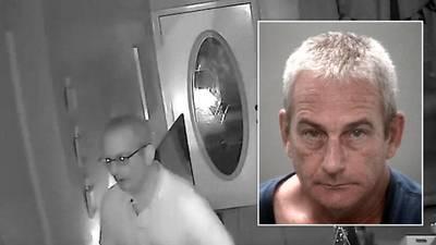 Florida man accused of standing in girl's room after break-in