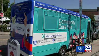 Pop-up clinic aims to vaccinate residents in Mattapan