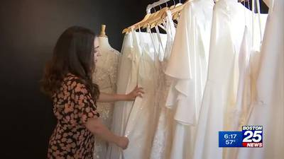 Brides saying 'I do' to environmentally-friendly gowns