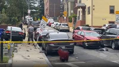 'It sounded like a bomb exploded': Woman ejected from vehicle, driver arrested after crash in Boston