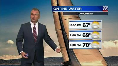 Boston 25 Monday night weather forecast