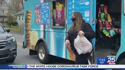 Weymouth ice cream truck doing what it can to keep profits from melting away
